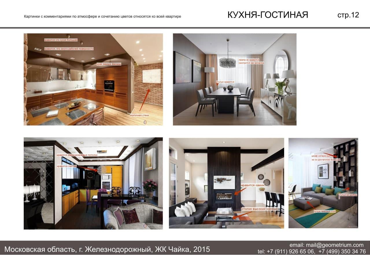 Техническое задание на дизайн проект квартиры