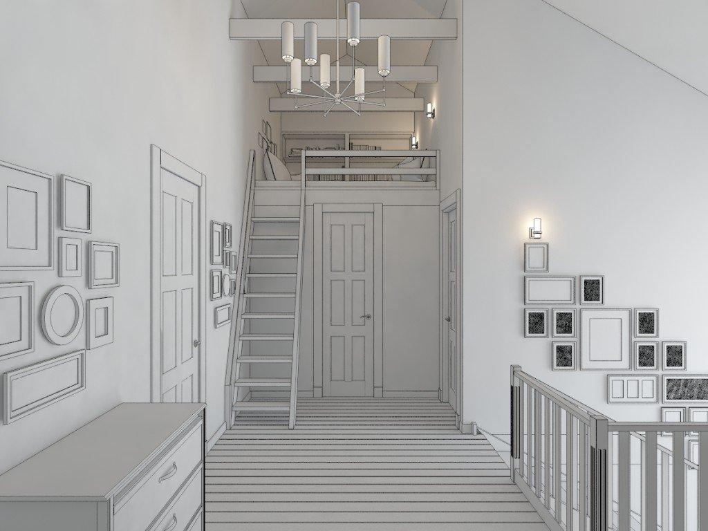 Холл 2 этаж