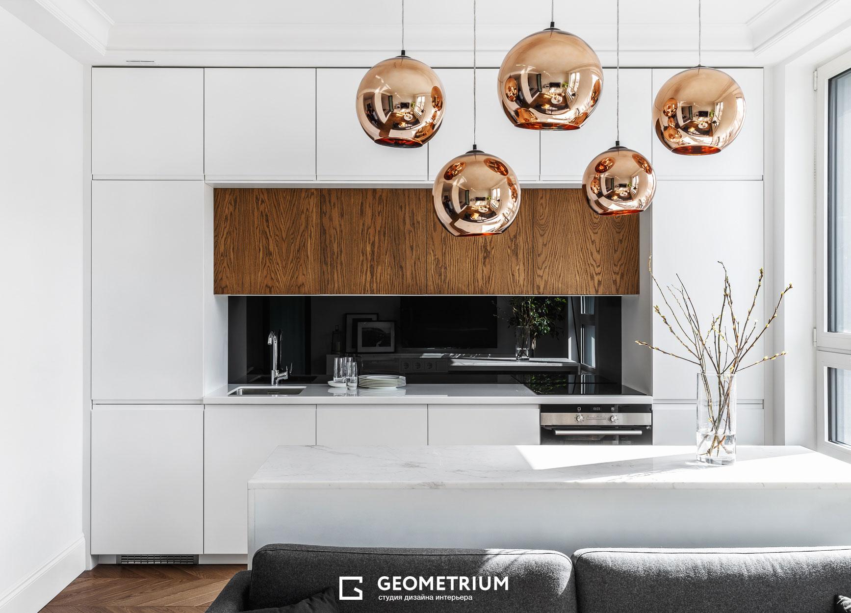 перепланировка однокомнатной квартиры geometrium