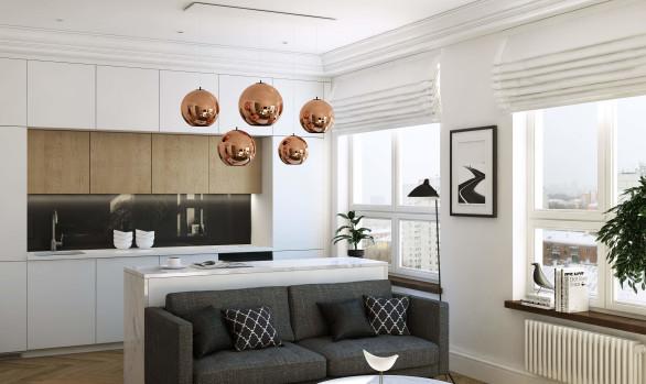 Дизайн квартиры в современном стиле для девушки: Филиград