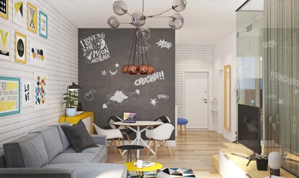 Дизайн квартиры для молодой семьи: Университетский