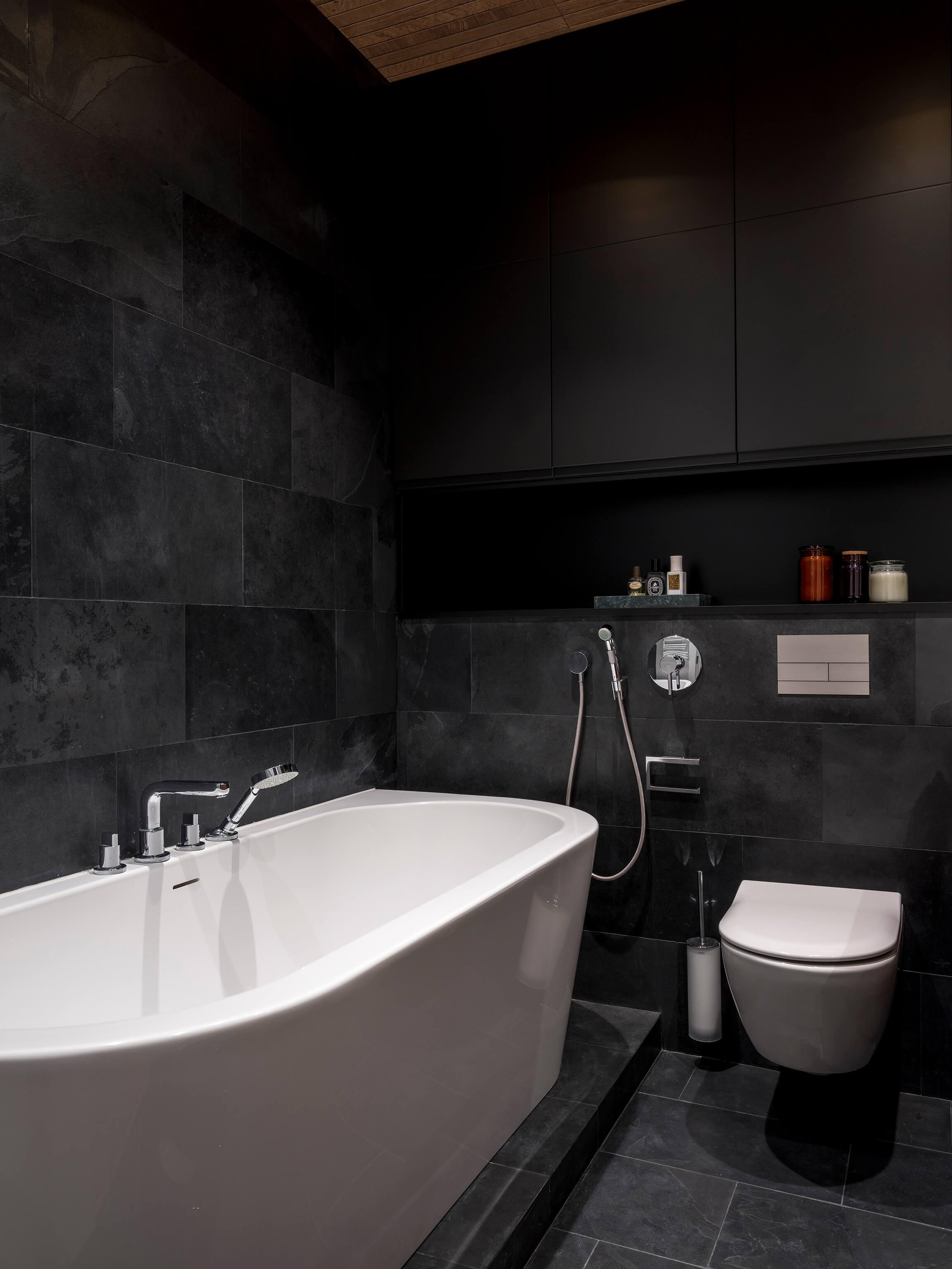 сланец в ванной