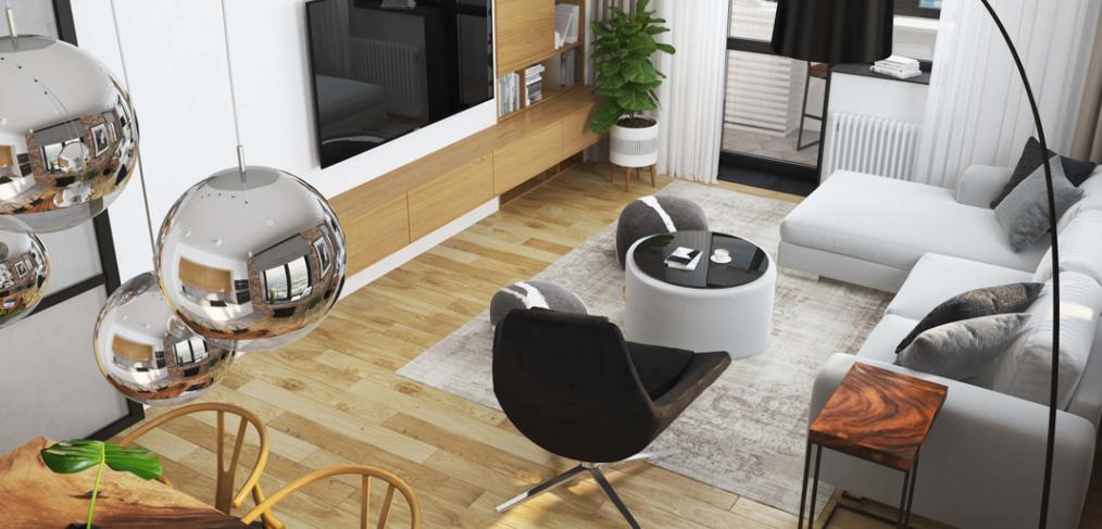 дизайн квартиры со свободной планировкой