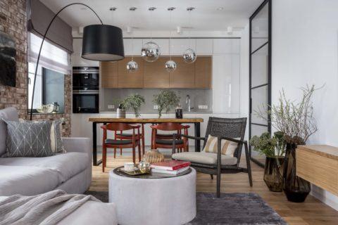 Дизайн жилых интерьеров, ремонт квартир
