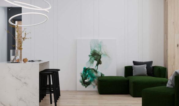 3-st Frunzenskaya 100 m2
