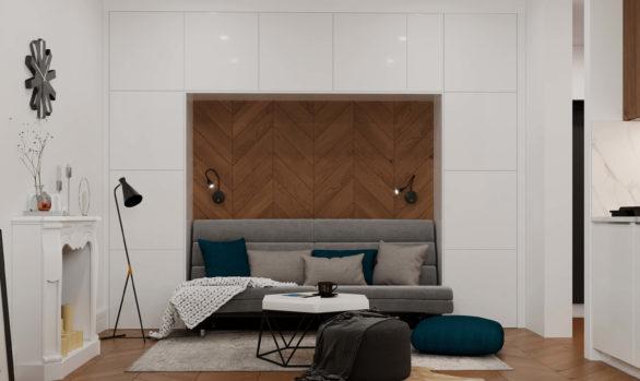 Квартира соруководителя студии Алексея Иванова