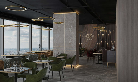 Ресторан Crystal Lounge 360 кв.м.