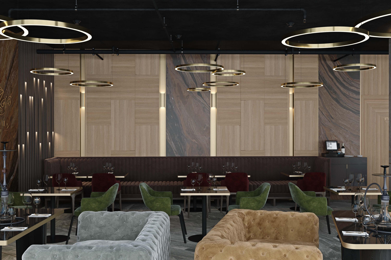 функциональный ресторан дизайн