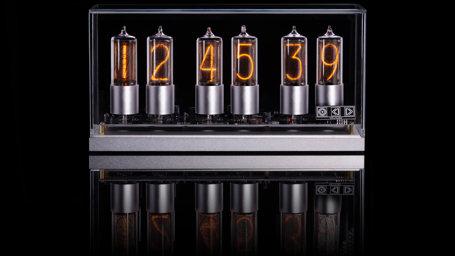 ZIN 18t — теплые ламповые часы